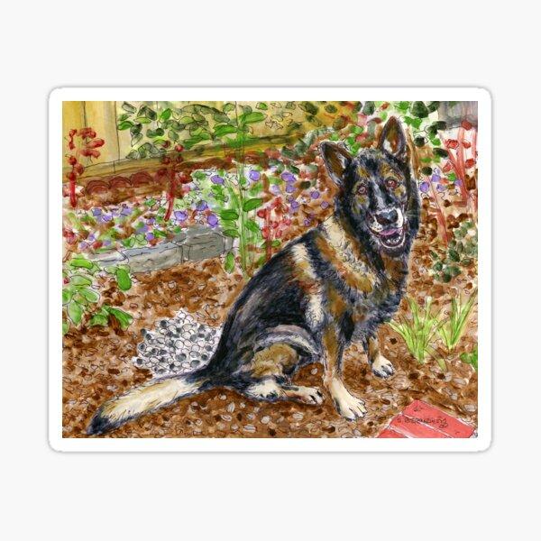 Cisko the Dog Sticker