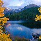 Longs Peak from above bear Lake by Paul Gana
