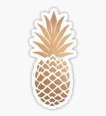 golden pinapple Sticker
