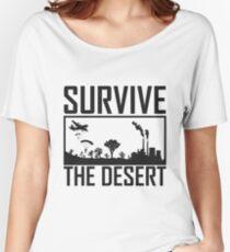 PUBG Survive the Desert Women's Relaxed Fit T-Shirt