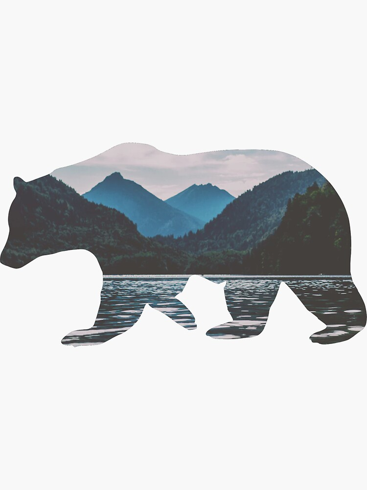 Mountain Bear by zanlee