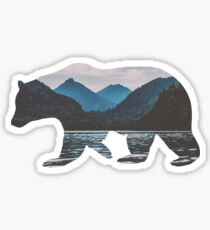 Bergbär Sticker