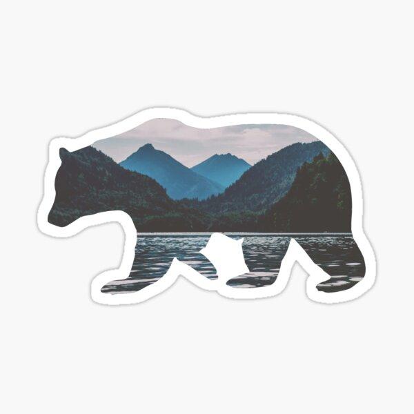 Ours des montagnes Sticker