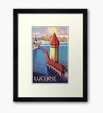 Lake Lucerne, Switzerland Framed Print
