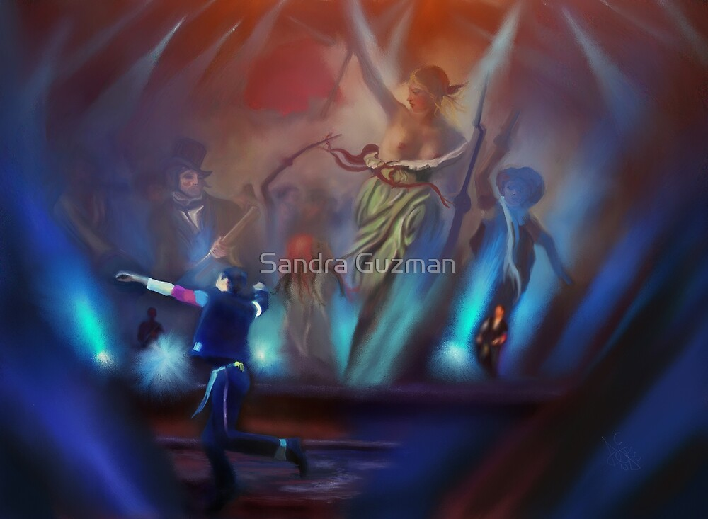 Dancing by Sandra Guzman