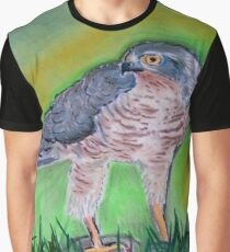 l' Epervier Kestrel drawing Graphic T-Shirt