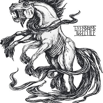 Sleipnir by kate-vigdis