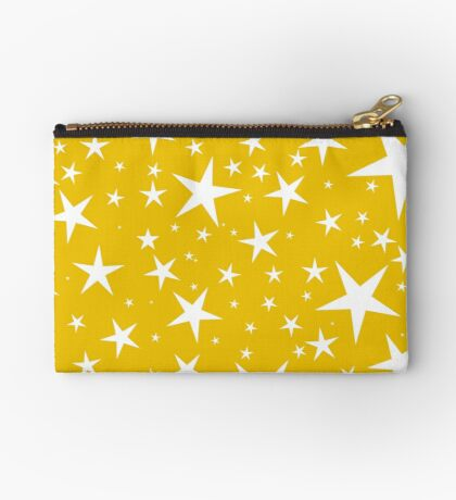 NDVH Stars (white on gold) Studio Pouch