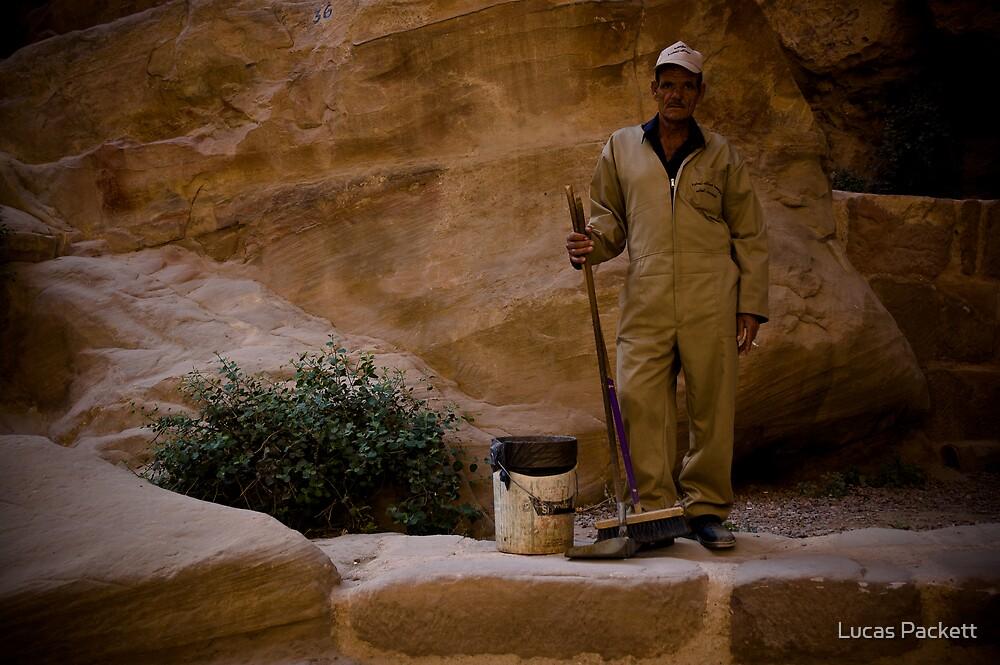 Jordan, Petra - Workman by Lucas Packett
