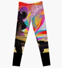 Walking the Black Dog Leggings