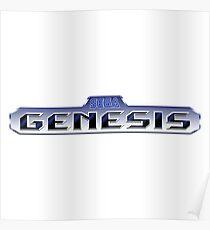 Sega Genesis HD Poster