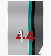 Hamilton 44 - Championship edition Poster