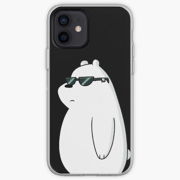 ice bear, coolest bear iPhone Soft Case