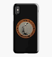 Lincoln Telephone and Telegraph USA iPhone Case/Skin