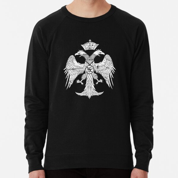 Palaiologos Dynasty - Byzantine Empire Eagle Lightweight Sweatshirt