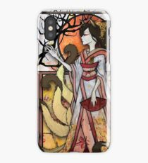 Kitsune of Sunset iPhone Case/Skin