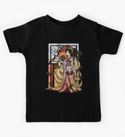 Kitsune of Sunset Kids Clothes