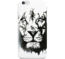 White Lion Phone Case iPhone Case/Skin