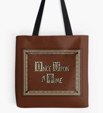 Once Upon a Time Storybook Tote Bag