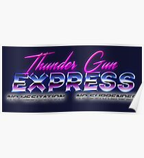 Thunder Gun Express  Poster