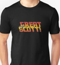 Back to the future - Great Scott! Unisex T-Shirt