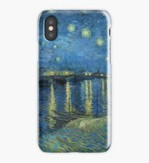 Starry Night Over the Rhone - Van Gogh iPhone Case/Skin