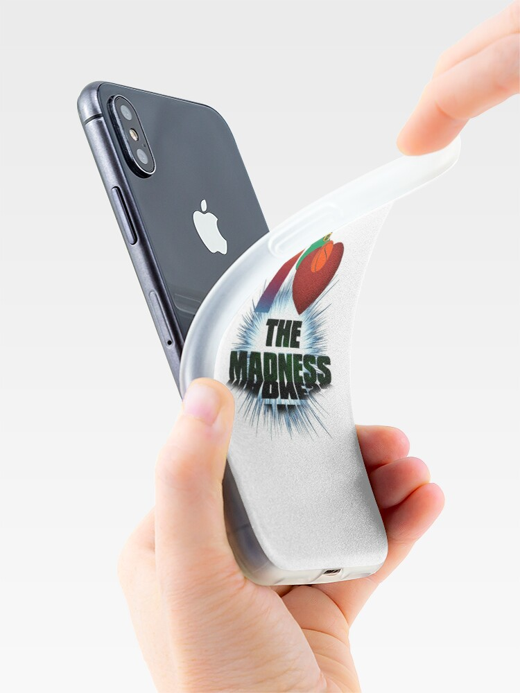 Alternate view of I Love The Madness Basketball Graphic Design iPhone Case & Cover