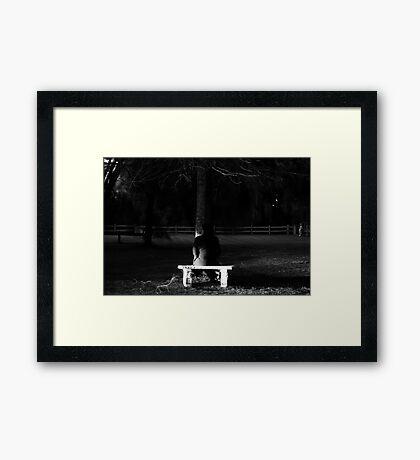 Not Alone #4 Framed Print