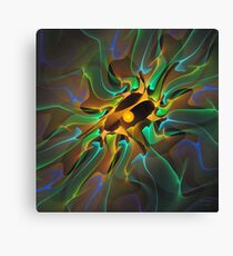 'Light Flame Abstract 199' Canvas Print