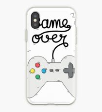 Game Over - Gamer iPhone Case