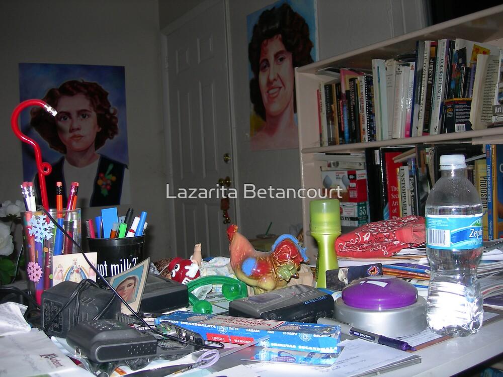 my drawing table by Lazarita Betancourt