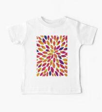 Watercolor brush strokes - multicolor Baby Tee