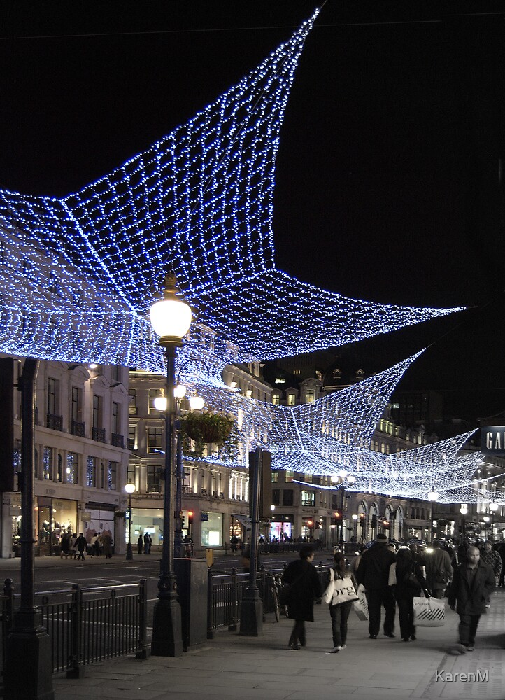 Regent Street at Christmas by KarenM