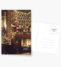Sherlock Christmas at 221b  Postcards