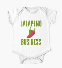 Funny Jalapeno Business  Kids Clothes