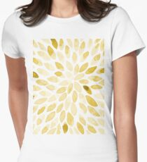 Watercolor brush strokes - yellow T-Shirt