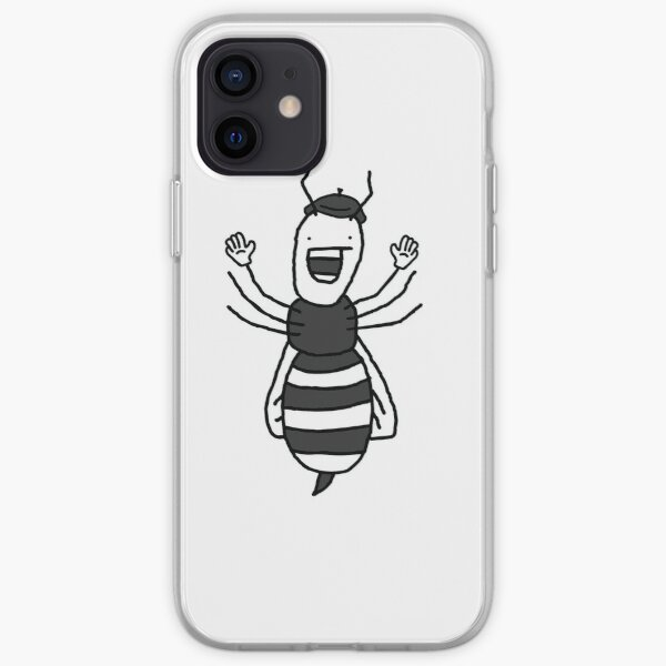 French Wasp iPhone Soft Case