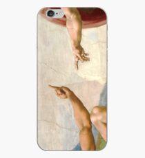 Michelangelo - Creation of Atheist Adam - Close Up iPhone Case