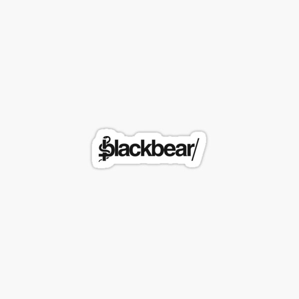 blackbear official logo Sticker