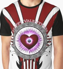 Valentines Star Burst Graphic T-Shirt
