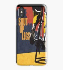 Shut Up Legs, Le Tour de France Poster iPhone Case/Skin