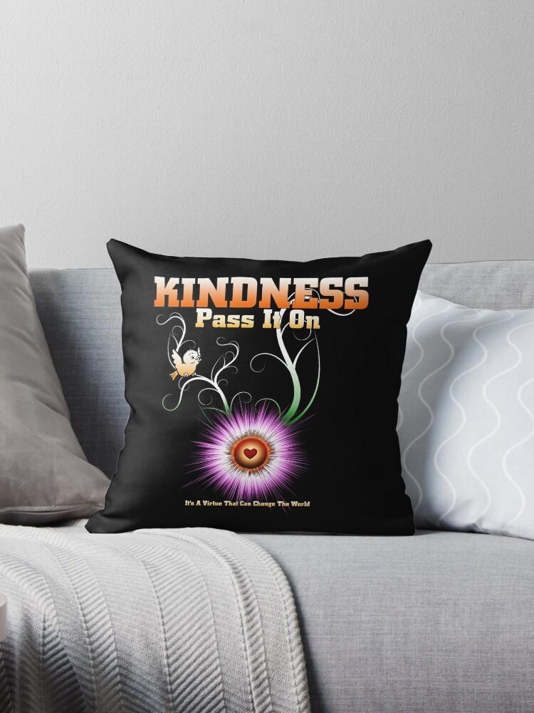 KINDNESS - Pass It On Starburst Heart by xzendor7