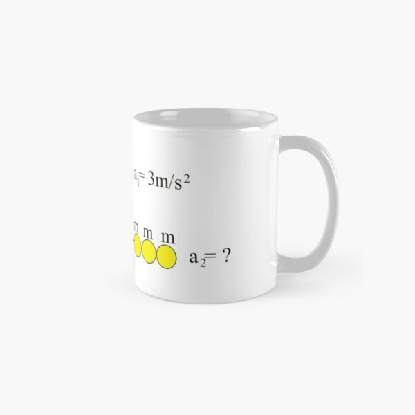 Newton's Law Classic Mug