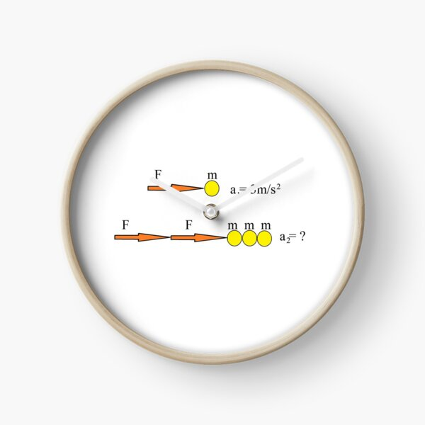 Newton's Law Clock
