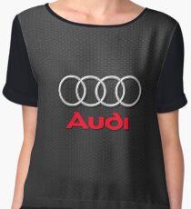 Audi Logo Women's Chiffon Top