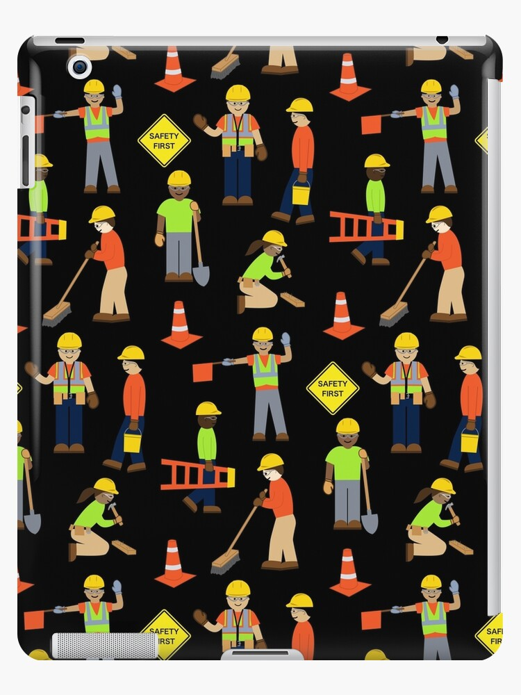 a0e0281758 Safety first construction volunteer worker Black