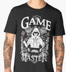 Game Master - White Men's Premium T-Shirt