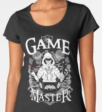 Camiseta premium para mujer Game Master - Blanco