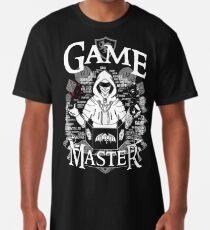 Spielmeister - Weiß Longshirt