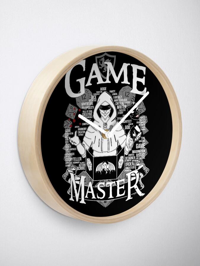 Alternate view of Game Master - White Clock